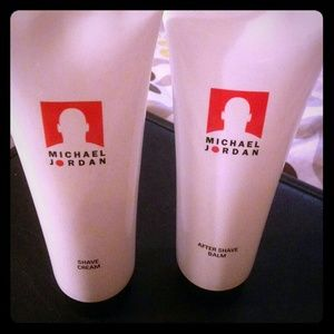 Michael Jordan Shave Cream & After Shave Balm